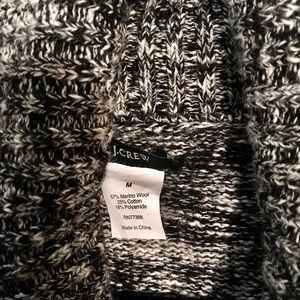 JCrew -Black & White cardigan